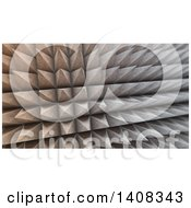 Clipart Of A 3d Textured Concrete Structure Background Royalty Free Illustration