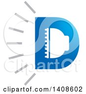 Clipart Of A LED Light Design Royalty Free Vector Illustration by Lal Perera