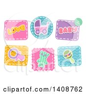 Baby Themed Patches