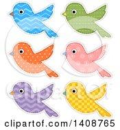 Patterned Bird Cloth Designs