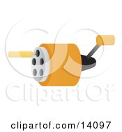 Pencil By A Pencil Sharpener School Clipart Illustration by Rasmussen Images