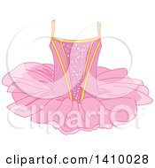 Clipart Of A Pink Ballerina Tutu Royalty Free Vector Illustration by Pushkin