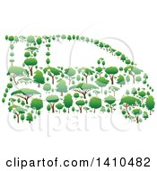 Car Made Of Trees