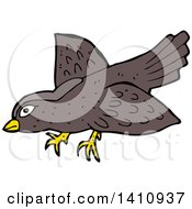Cartoon Brown Bird