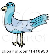Cartoon Blue Bird