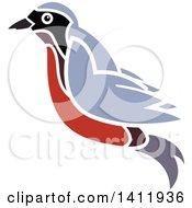 Flying Robin Bird