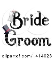 Black Wedding Bride And Groom Designs