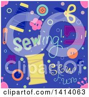 Seamless Sewing Background