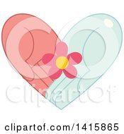 Charity Heart Of Hands Holding A Flower