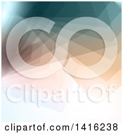 Clipart Of A Geometric Abstract Background Royalty Free Vector Illustration