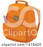 Poster, Art Print Of Backpack