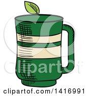 Sketched Tea Cup