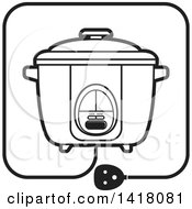 Lineart Rice Cooker