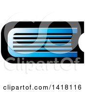 Clipart Of A Blue Book Icon Royalty Free Vector Illustration by Lal Perera