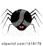 Laughing Black Spider