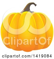 Clipart Of A Halloween Pumpkin Royalty Free Vector Illustration by visekart
