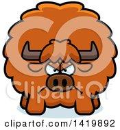 Cartoon Mad Chubby Yak