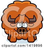 Cartoon Chubby Yak