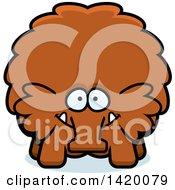 Cartoon Chubby Woolly Mammoth