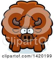 Cartoon Chubby Buffalo