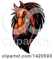 Tough Orange Or Brown Horse Head