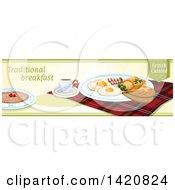 Poster, Art Print Of British Food Menu Header Or Border