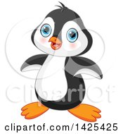 Poster, Art Print Of Cute Adorable Baby Penguin