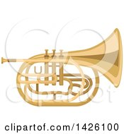 Brass Tuba Instrument