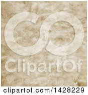 Clipart Of A Background Texture Of Old Paper Royalty Free Vector Illustration