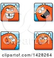 Goofy Monster Faces