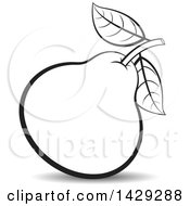 Black And White Pear