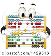 Cartoon Abacus Character