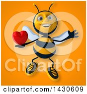 Poster, Art Print Of 3d Male Bee