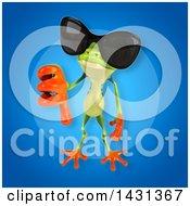 3d Argie Frog