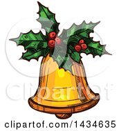 Sketched Christmas Bell