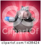 3d Henry Hippo Character