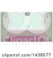 Poster, Art Print Of Projector And Wall
