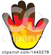 Clipart Of A Hand Royalty Free Vector Illustration by ColorMagic