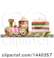 Layered Cake Train