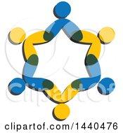 Teamwork Unity Group Of People