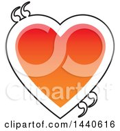 Poster, Art Print Of Love Heart With Quotation Marks