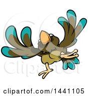 Cartoon Bird Flying