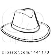 Black And White Cowboy Hat