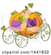 Fantasy Pumpkin Cinderella Carriage