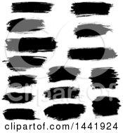 Black Stroke Design Elements