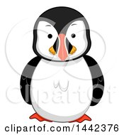 Clipart Of A Puffin Bird Royalty Free Vector Illustration by BNP Design Studio