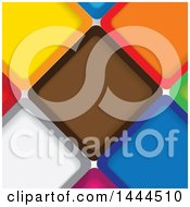 Poster, Art Print Of Background Of Colorful Tiles
