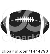 Black And White American Football
