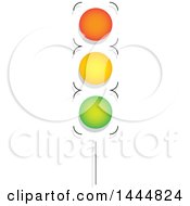 Clipart Of A Street Light Royalty Free Vector Illustration by ColorMagic