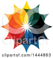 Colorful Star Logo Design